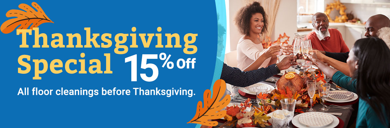 Thanksgiving special 15% off.